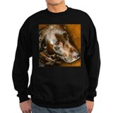 Chocolate labrador retrievers Sweatshirt (dark)