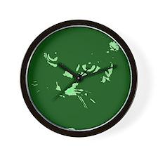 Pop Art Gray Cat Wall Clock