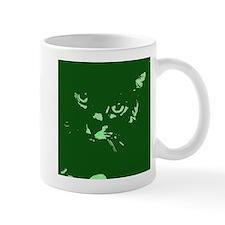 Pop Art Gray Cat Mug