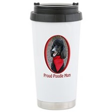 Proud Poodle Mom Travel Mug