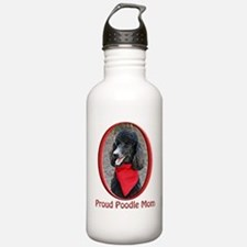 Proud Poodle Mom Water Bottle
