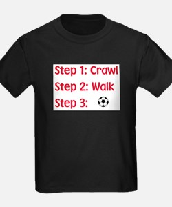 Step 3: Soccer Kids T-Shirt