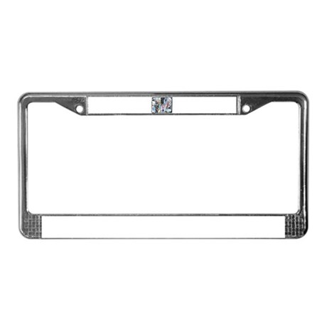 Parade of the Elephants License Plate Frame