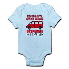 Sometimes Evil Drives a Minivan Infant Bodysuit