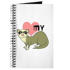 Love My Ferret - Light / Cinnamon Journal