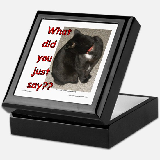 What Did You Just Say?? Keepsake Box
