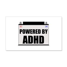 Powered By ADHD Wall Decal