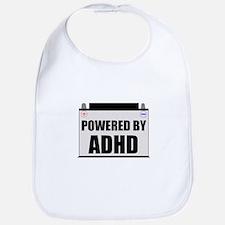Powered By ADHD Baby Bib