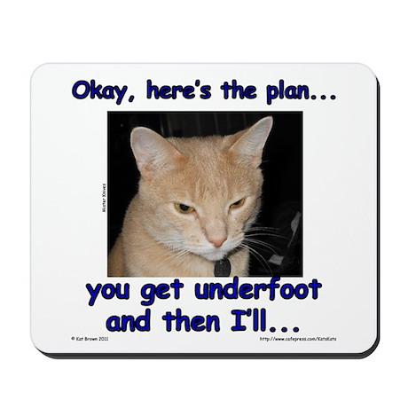 Okay, Here's the Plan... Mousepad