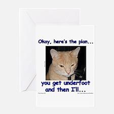 Okay, Here's the Plan... Greeting Card