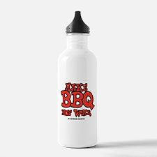 Make BBQ Not War Water Bottle