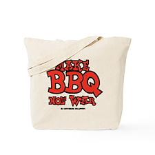 Make BBQ Not War Tote Bag
