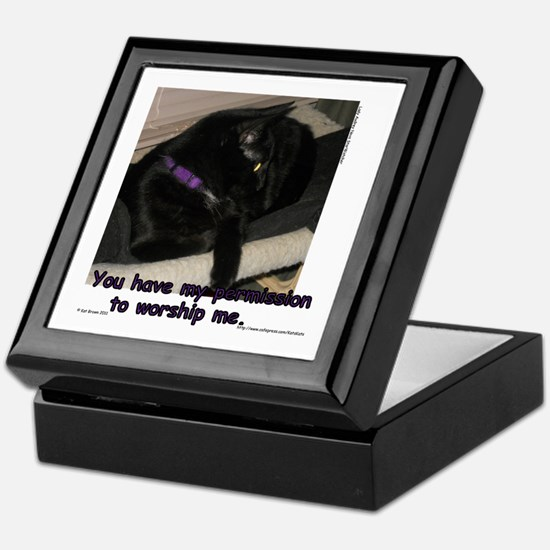 Worship Me... Keepsake Box