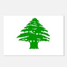 Green Cedar Tree Postcards (Package of 8)