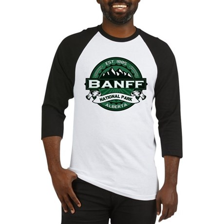 Banff Natl Park Forest Baseball Jersey