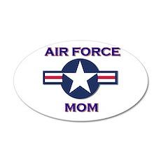 air force mom 22x14 Oval Wall Peel