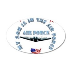 Air Force Son 22x14 Oval Wall Peel