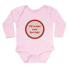 Fajr Long Sleeve Infant Bodysuit (strawberry)