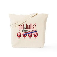 National Balls (USA) Tote Bag