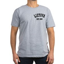 Distressed Lietuva Est. 1009 T