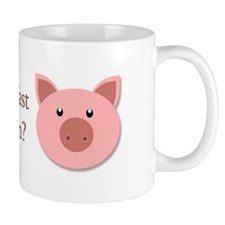 What's breakfast without bacon? Mug