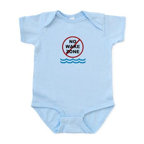 No Wake Zone Infant Bodysuit