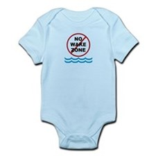 No Wake Zone Infant Bodysuit