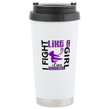 Fight Like A Girl Lupus Travel Mug
