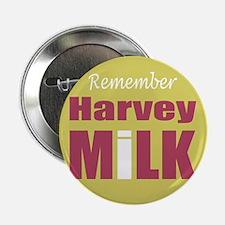 "Remember Harvey Milk 2.25"" Button (100 pack)"