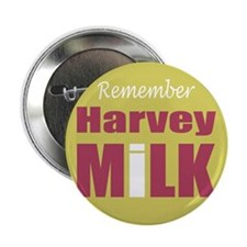 "Remember Harvey Milk 2.25"" Button (10 pack)"