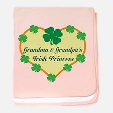 Irish Princess/Grandma/Grandp baby blanket