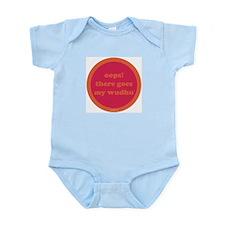Wudhu Infant Bodysuit (fuschia + orange)