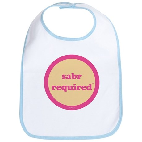 Sabr Required Bib (yellow + pink)