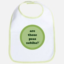 Zabiha Peas Bib (light green)