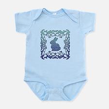 Rabbit Lattice Infant Bodysuit