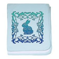 Rabbit Lattice baby blanket