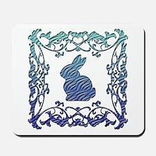 Rabbit Lattice Mousepad