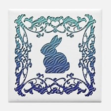 Rabbit Lattice Tile Coaster