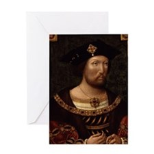 Henry VIII Greeting Card