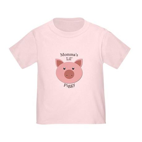 Momma's Lil' Piggy Toddler T-Shirt