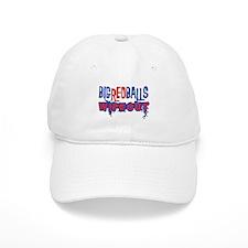 Big Red Balls Wipeout Baseball Cap