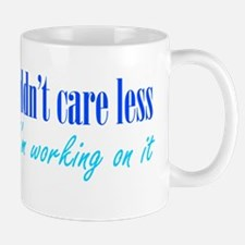 Couldn't Care Less Mug