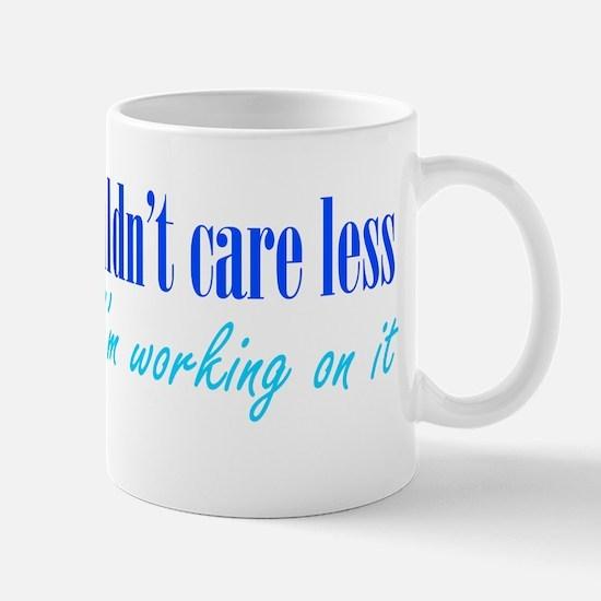 Couldn't Care Less Mug