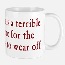 Time for Meds to Wear Off Mug