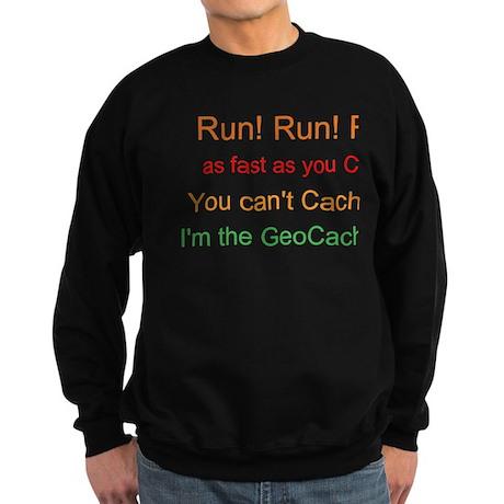 I'm the Geocache Man! Sweatshirt (dark)