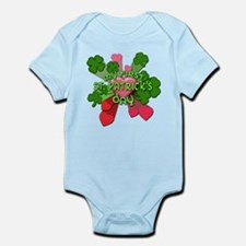 My First St. Patrick's Day Cute Infant Bodysuit