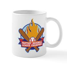 Fantasy Baseball League Champion Mug