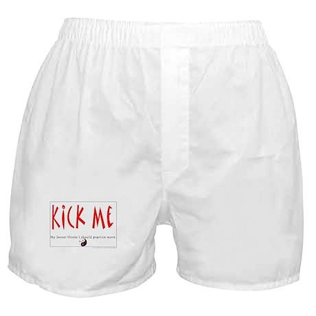 Kick Me Boxer Shorts