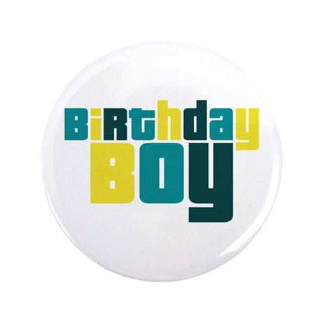 "Birthday Boy 3.5"" Button"