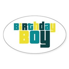 Birthday Boy Decal